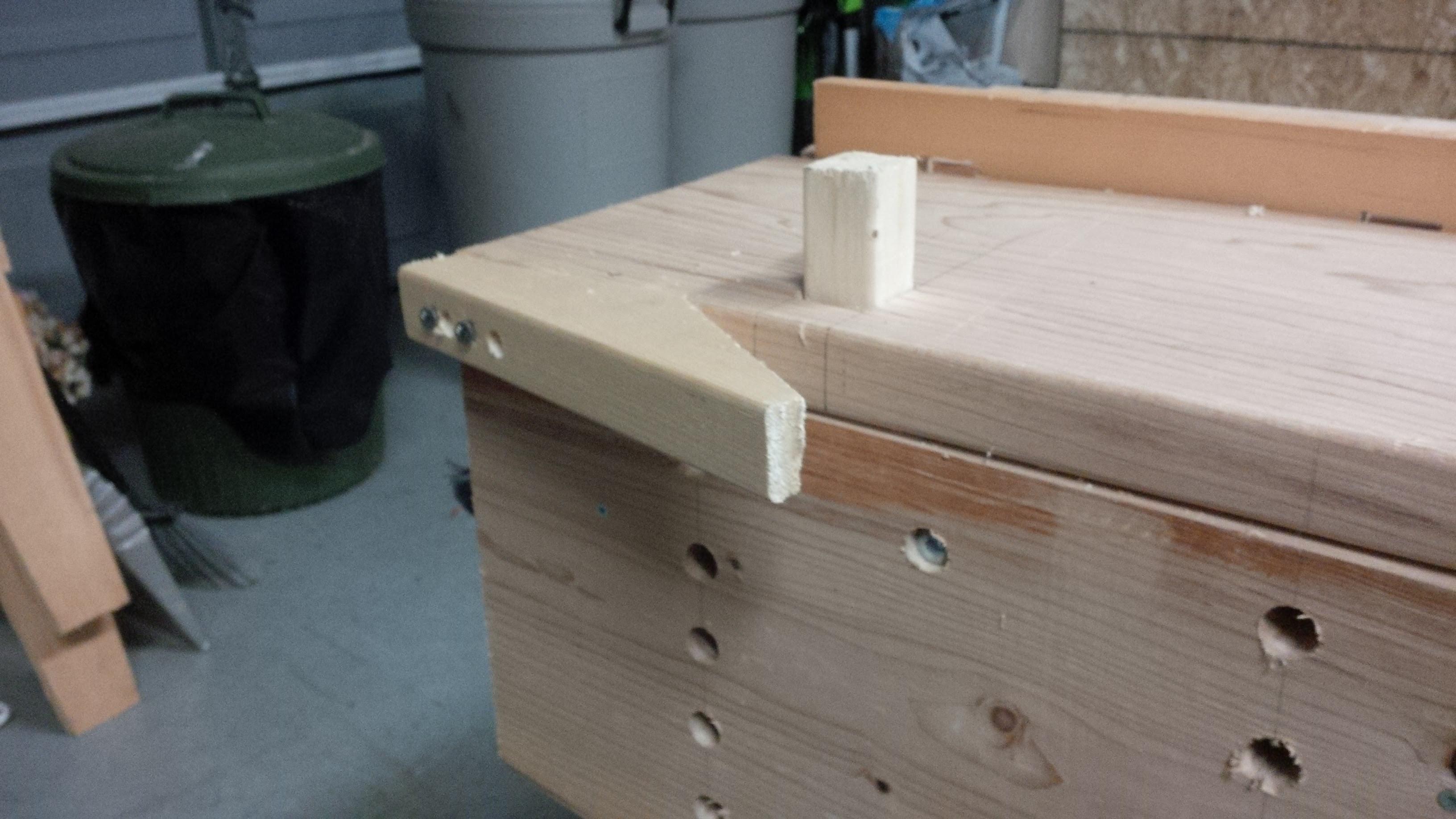 my first workbench · woodnerd